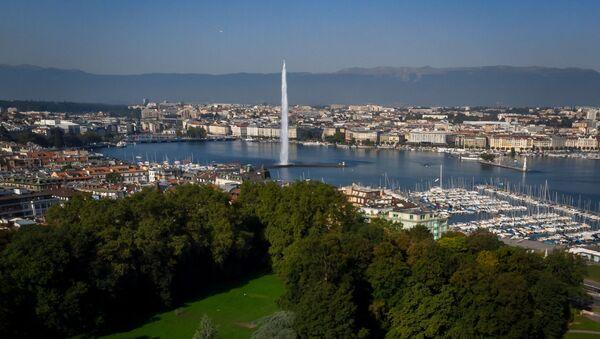 Pogled na Park La Granž u Ženevi - Sputnik Srbija