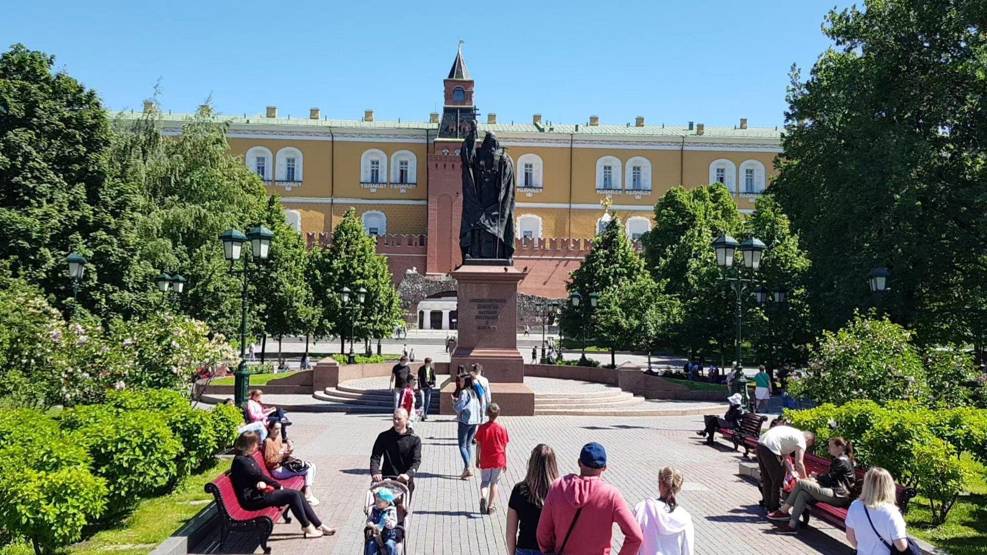 Александровски сад у Москви - Sputnik Србија, 1920, 13.07.2021