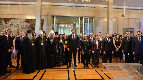 Пријем у амбасади Русије у Београду - Sputnik Србија