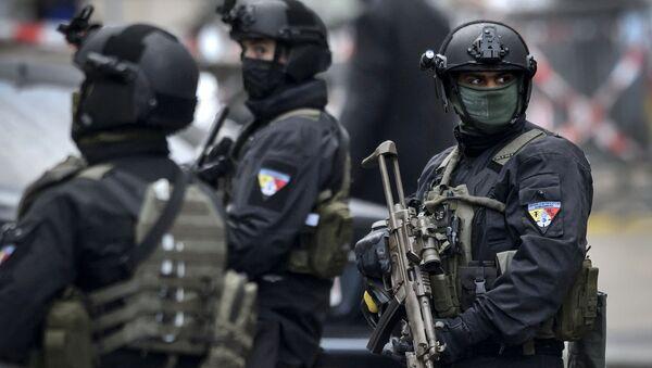 Швајцарска полиција у Женеви - Sputnik Србија