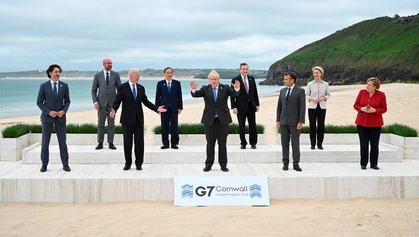 Учесници самита Г7 у Корнволу - Sputnik Србија