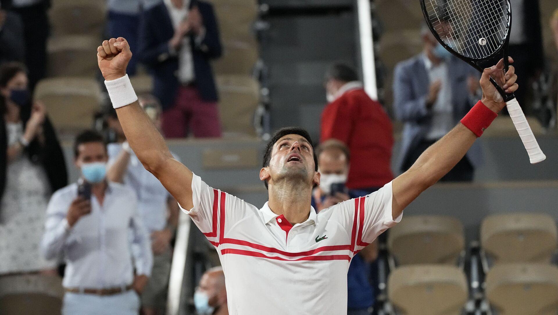 Najbolji teniser sveta Novak Đoković - Sputnik Srbija, 1920, 12.06.2021