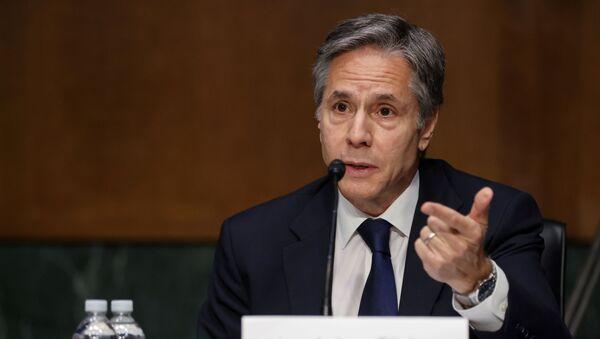 Амерички државни секретар Ентони Блинкен - Sputnik Србија