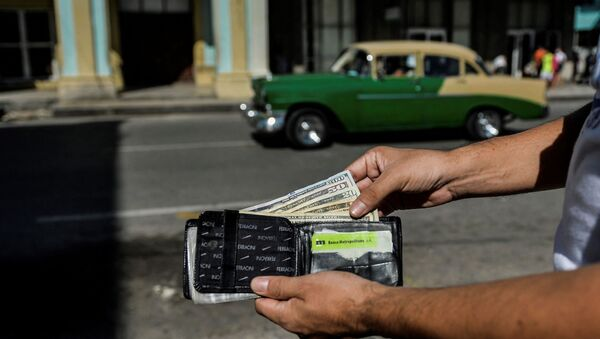 Куба, долари - Sputnik Србија