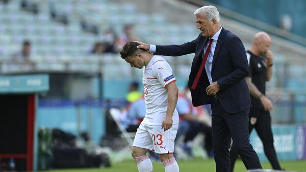 Džerdan Šaćiri i Vladimir Petković, EURO 2020 - Sputnik Srbija