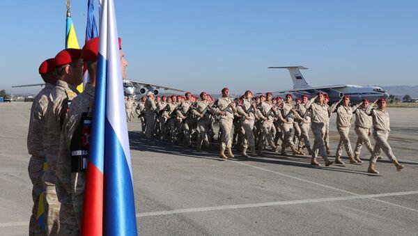 Дан Русије обележен и у бази Хмејмим - Sputnik Србија