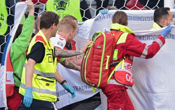 Драма на утакмици између Данске и Финске - Sputnik Србија