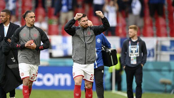 Fudbaleri Danske i Finske se vratili na teren - Sputnik Srbija