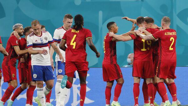 Fudbaleri Rusije i Belgije – EURO 2020 - Sputnik Srbija