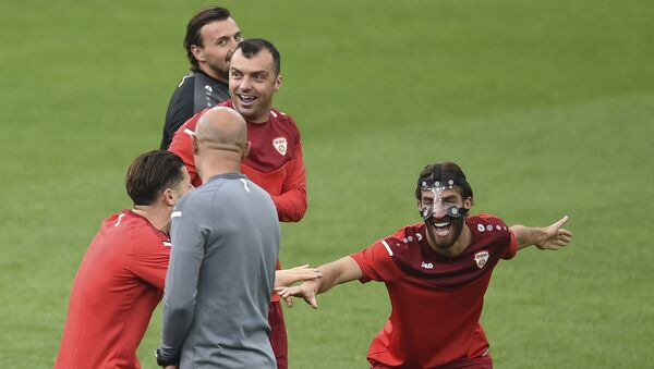 Fudbalska reprezentacija Makedonije – EURO 2020 - Sputnik Srbija