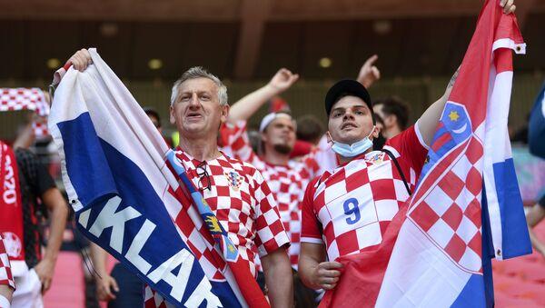 Navijači Hrvatske – EURO 2020 - Sputnik Srbija