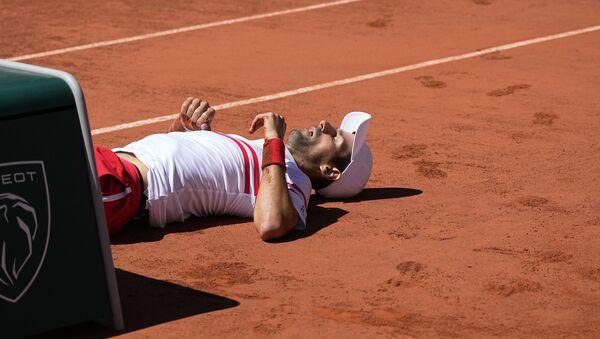 Najbolji teniser sveta Novak Đoković – pad na Rolan Garosu - Sputnik Srbija
