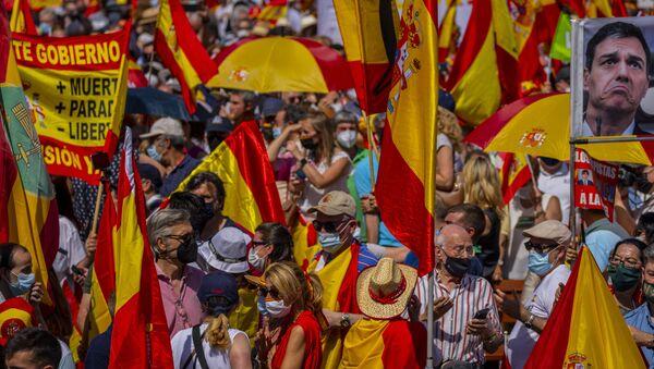 Демонстрације у Мадриду - Sputnik Србија