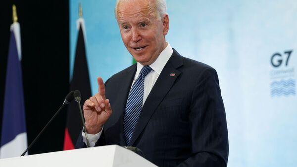 Председник САД Џо Бајден - Sputnik Србија