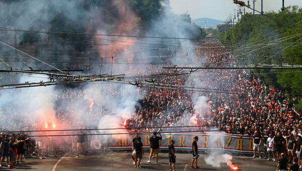 Atmosfera iz Budimpešte – EURO 2020 - Sputnik Srbija