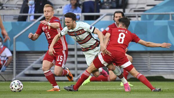 Diogo Žota na utakmici protiv Mađarske – EURO 2020 - Sputnik Srbija