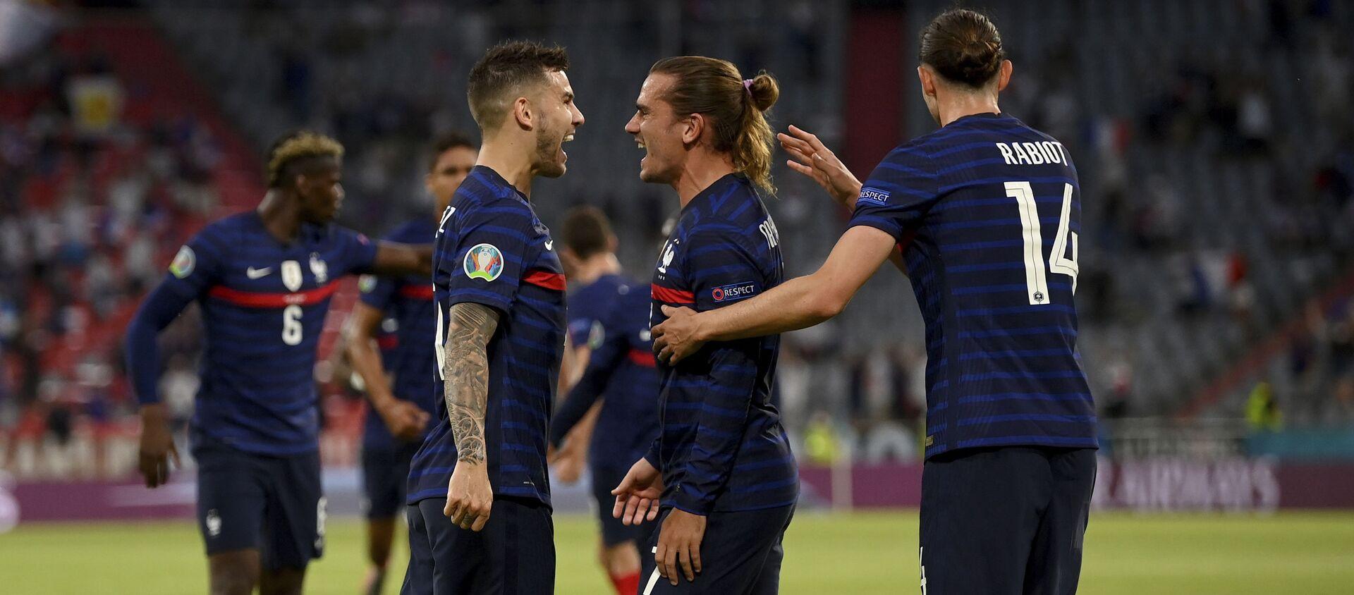 Fudbaleri Francuske slave gol na meču protiv Nemačke – EURO - Sputnik Srbija, 1920
