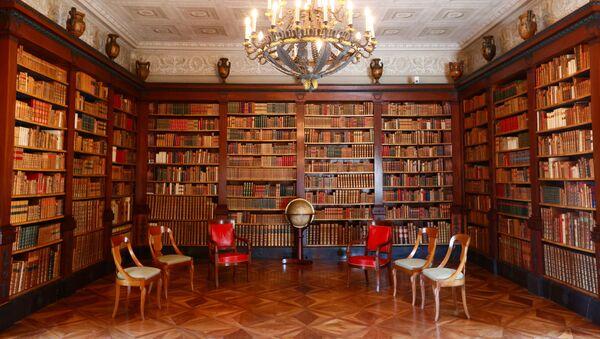 Biblioteka u vili La Granž - Sputnik Srbija