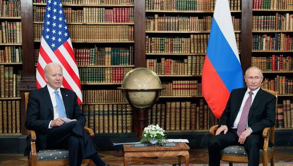 Sastanak predsednika SAD i Rusije Džoa Bajdena i Vladimira Putina u Ženevi - Sputnik Srbija