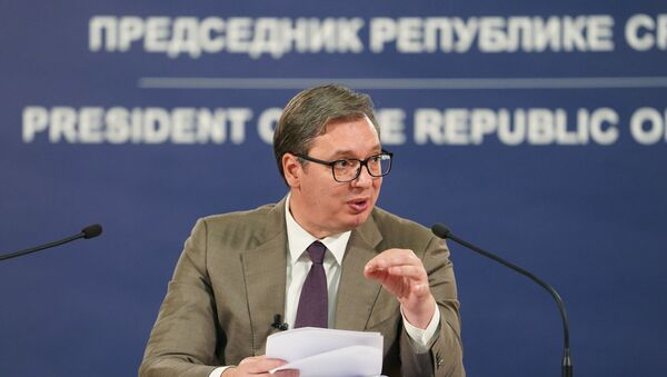 Aleksandar Vučić, predsednik Srbije - Sputnik Srbija