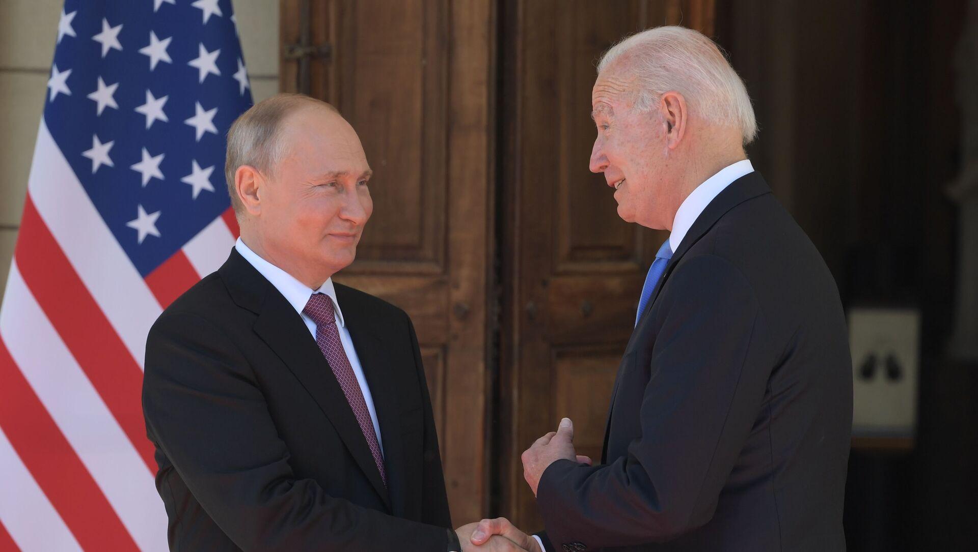 Састанак председника Русије и Сједињених Држава Владимира Путина и Џоа Бајдена у Женеви - Sputnik Србија, 1920, 16.06.2021