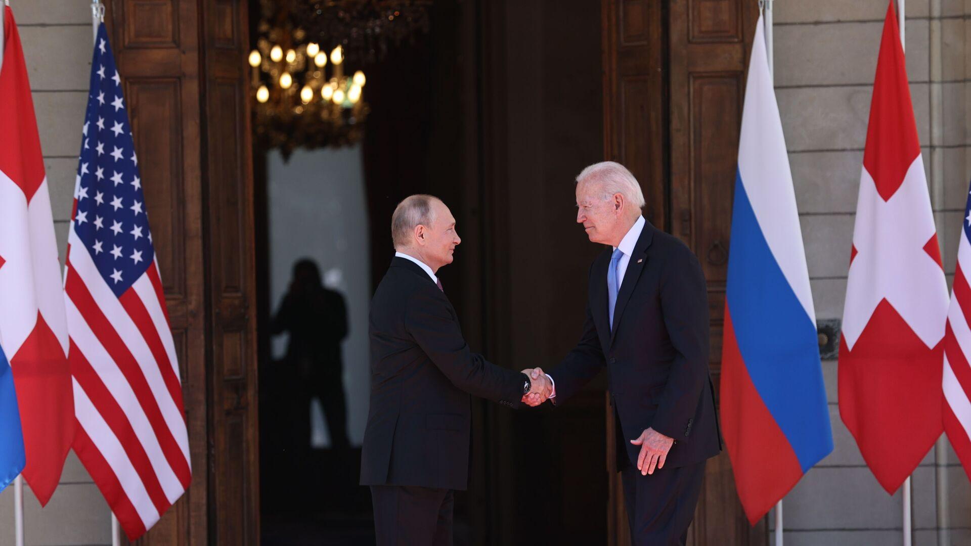 Сусрет Владимира Путина и Џозефа Бајдена у Женеви - Sputnik Србија, 1920, 16.06.2021