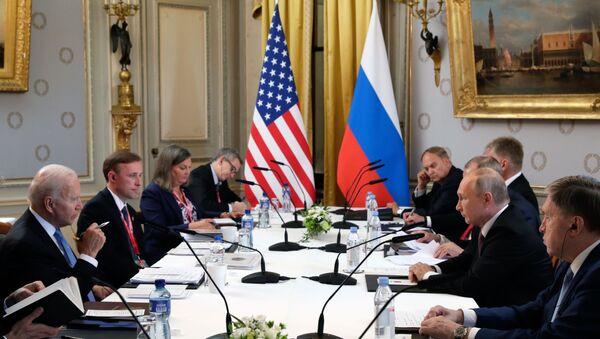 Sastanak Putina i Bajdena u Ženevi - Sputnik Srbija