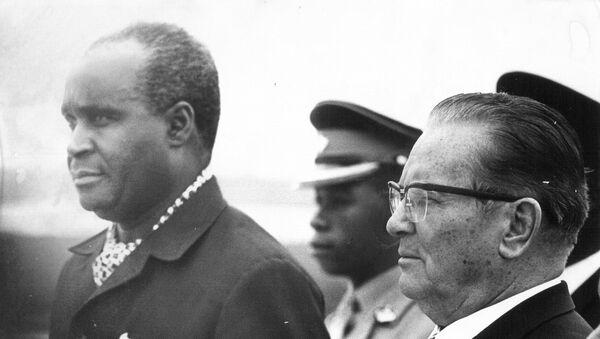 Kenet Kaunda i Tito - Sputnik Srbija