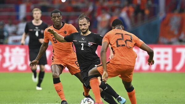 Детаљ са утакмице Холандија – Аустрија - Sputnik Србија