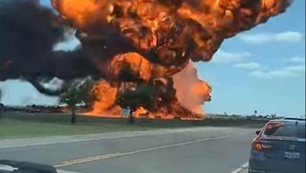 Експлозија камиона цистерне у Тексасу - Sputnik Србија