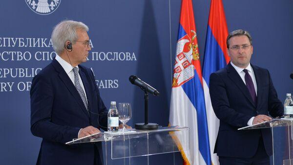 Aleksandar Gruško i Nikola Selaković - Sputnik Srbija