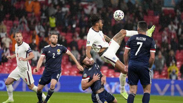 Detalj sa utakmice Engleska – Škotska na Evropskom prvenstvu - Sputnik Srbija