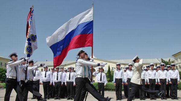 Ceremonija dodele diploma oficirima u Ratnoj mornarici Rusije u Sevastopolju - Sputnik Srbija