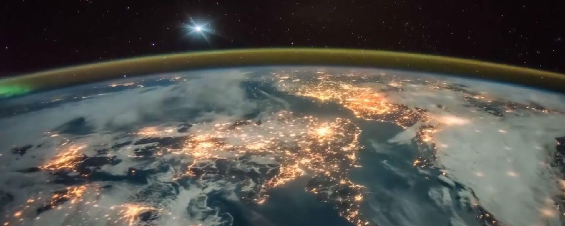 Snimak planete Zemlje sa međunarodne svemirske stanice - Sputnik Srbija, 1920, 19.06.2021