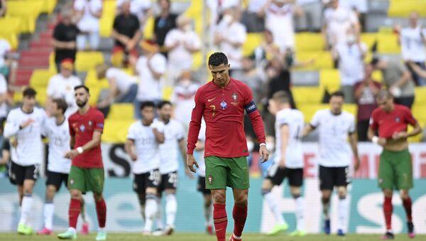 Detalj sa utakmice Portugalija – Nemačka – EURO 2020 - Sputnik Srbija