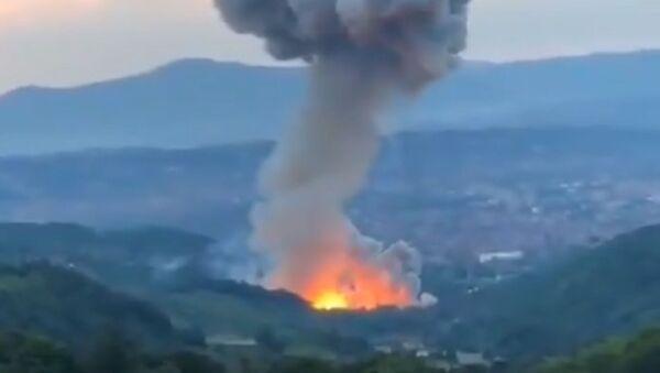 Експлозија у чачанској Слободи - Sputnik Србија