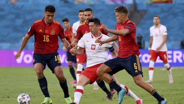 Detalj sa utakmice Španija – Poljska - Sputnik Srbija