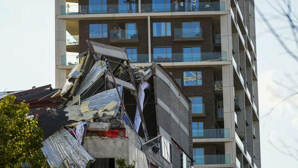 Зграда школе у белгијском граду Антверпену срушила се током грађевинских радова - Sputnik Србија