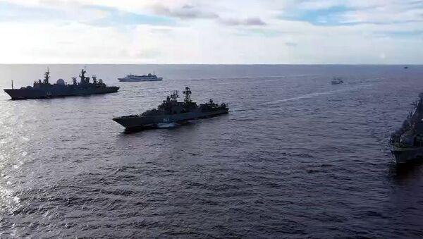 Војне вежбе руске флоте у Тихом океану - Sputnik Србија