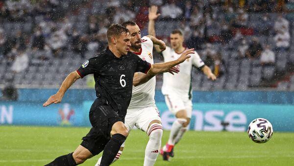 Detalj sa utakmice Nemačka – Mađarska - Sputnik Srbija