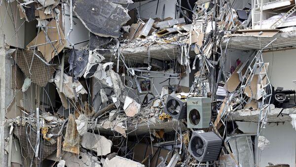 Srušena zgrada na Floridi - Sputnik Srbija