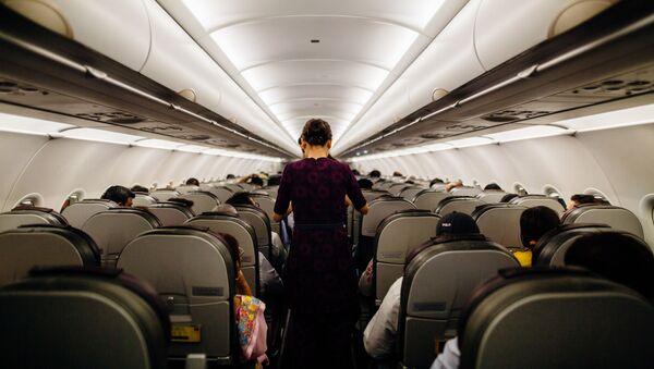 Stjuardesa u avionu - Sputnik Srbija