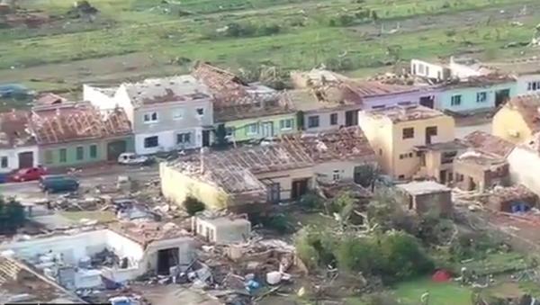 Posledice tornada u Češkoj - Sputnik Srbija