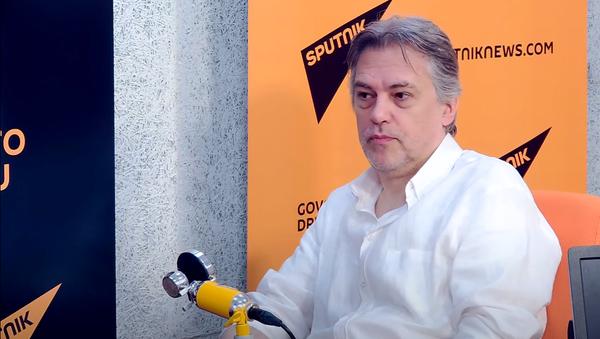 Горан Гоцић, писац - Sputnik Србија