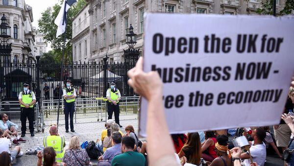 Demonstracije u Londonu - Sputnik Srbija