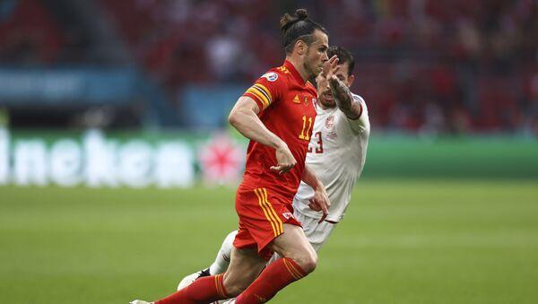 Geret Bejl i Pjer Emil Hejbjerg u duelu – EURO 2020 - Sputnik Srbija