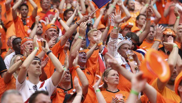 Navijače Holandije u Budimpešti – EURO 2020 - Sputnik Srbija