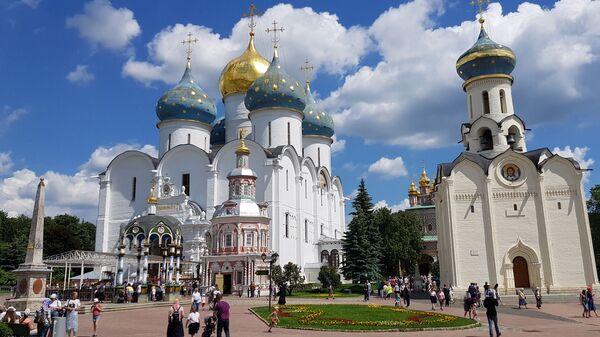 Тројице-Сергијева лавра је један од најзначајнијих духовних центара Русије - Sputnik Србија