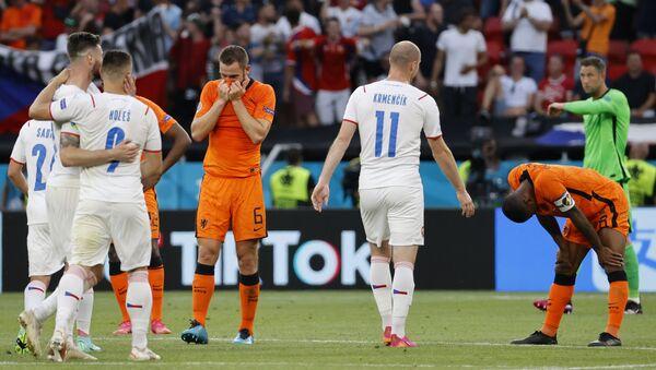 Detalj sa utakmice Holandija – Češka – EURO 2020 - Sputnik Srbija