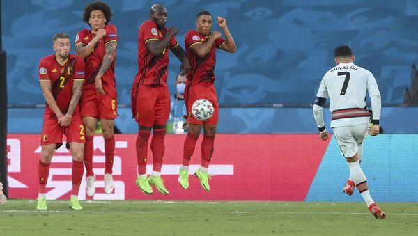 Detalj sa utakmice Belgija – Portugalija, EURO 2020 - Sputnik Srbija